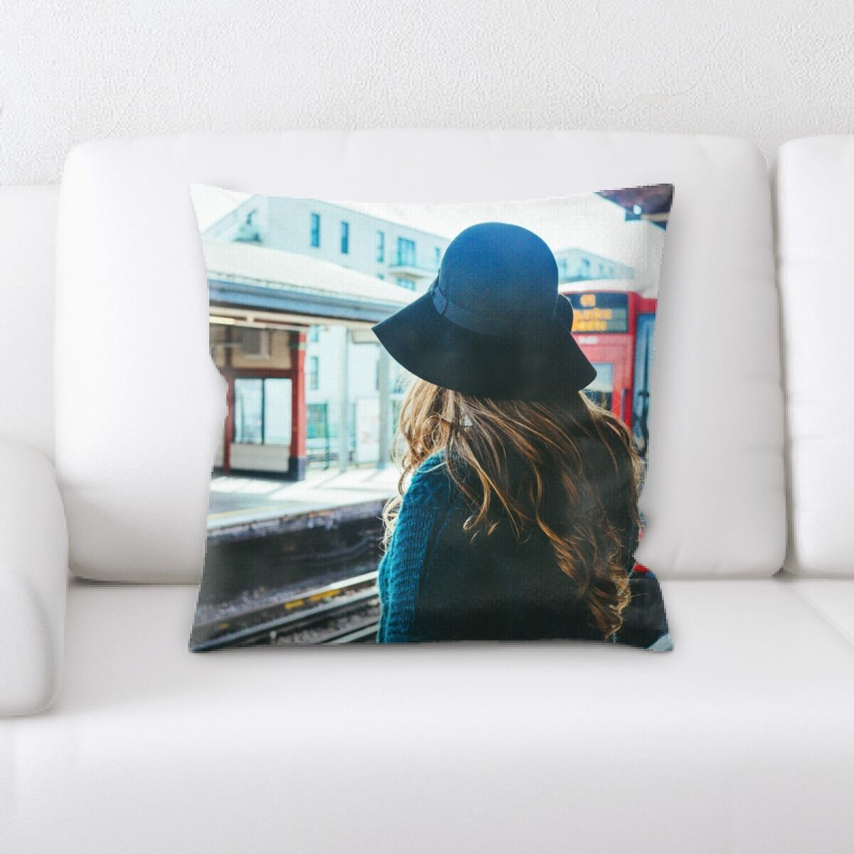 Street Life (5) Throw Pillow