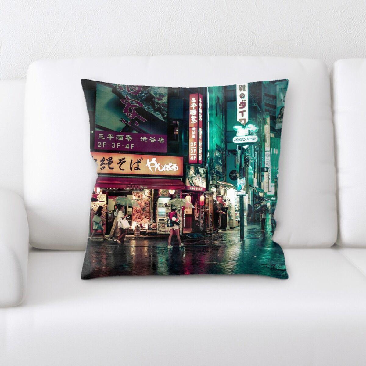 Street Life (8) Throw Pillow