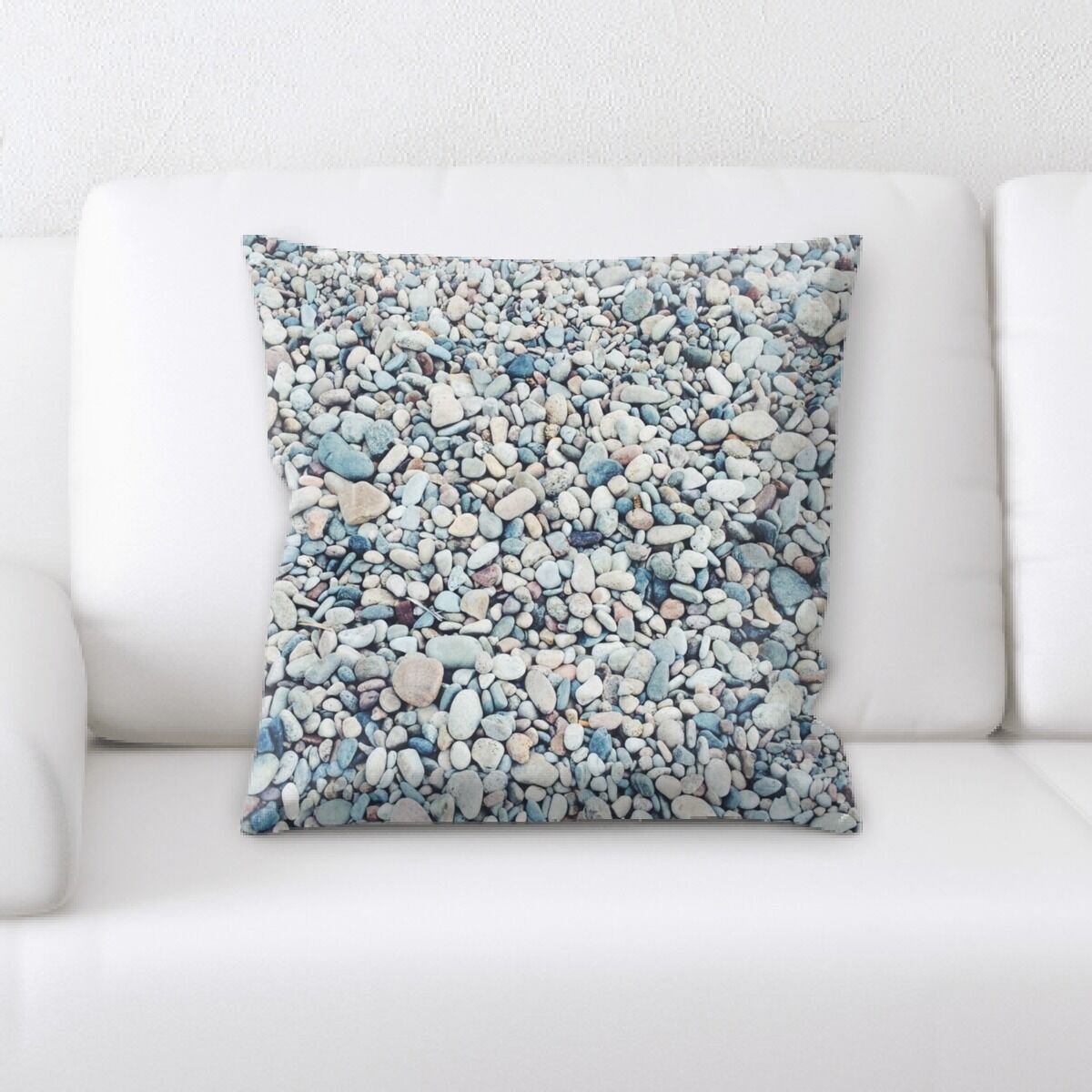 Stone (8) Throw Pillow