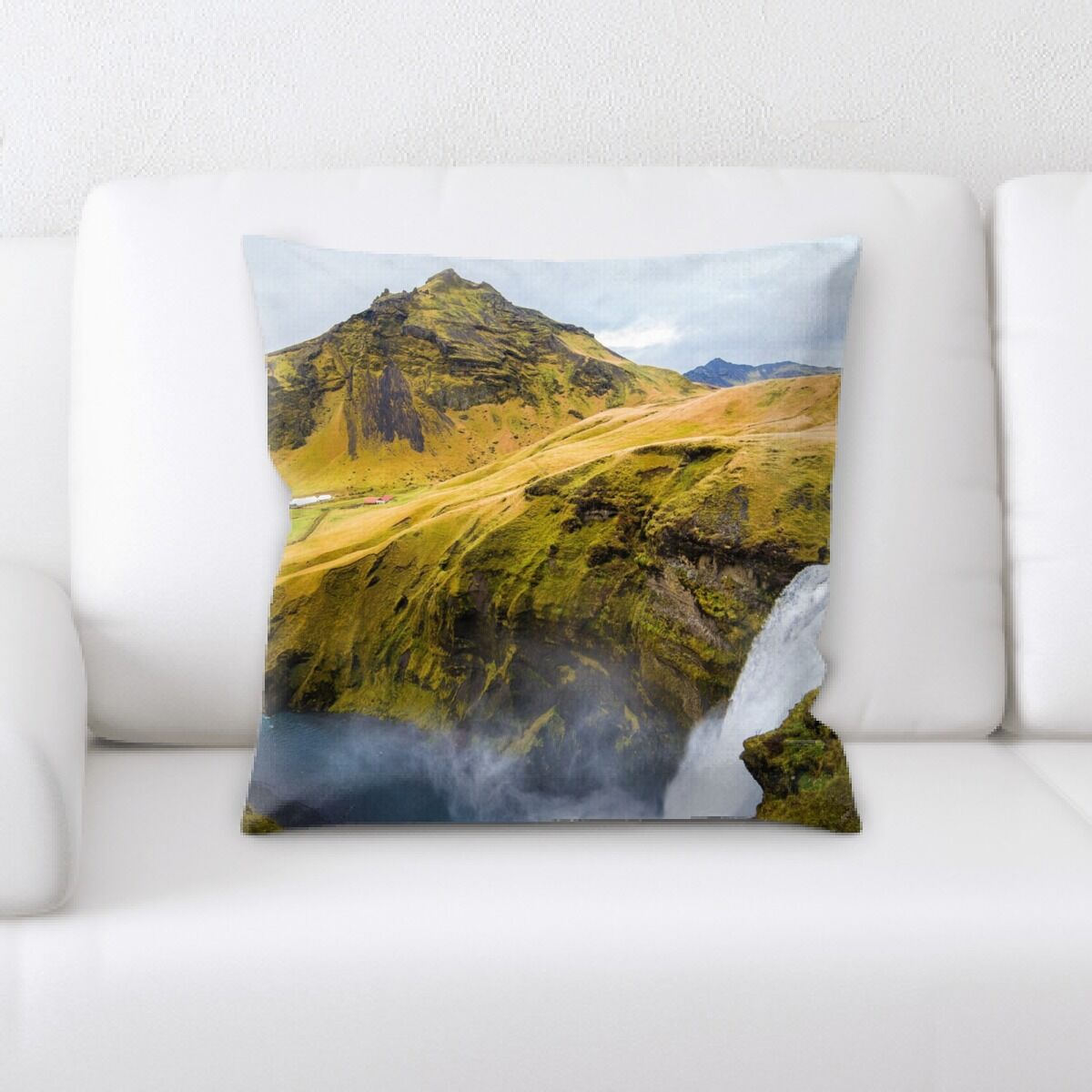 Waterfall (31) Throw Pillow