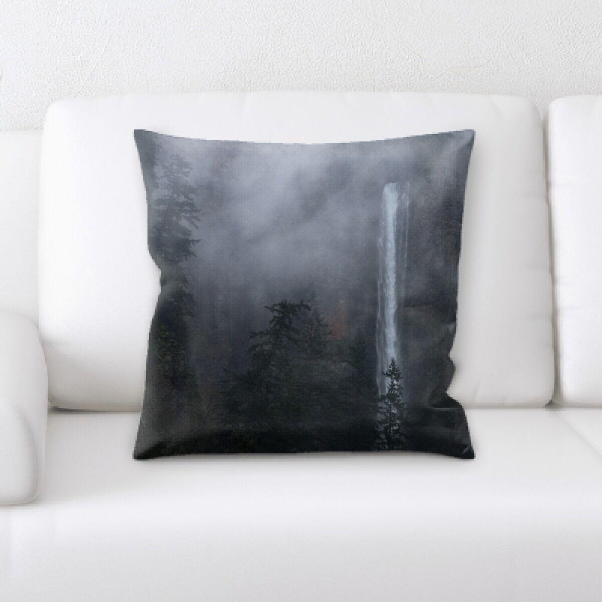 Waterfall (34) Throw Pillow