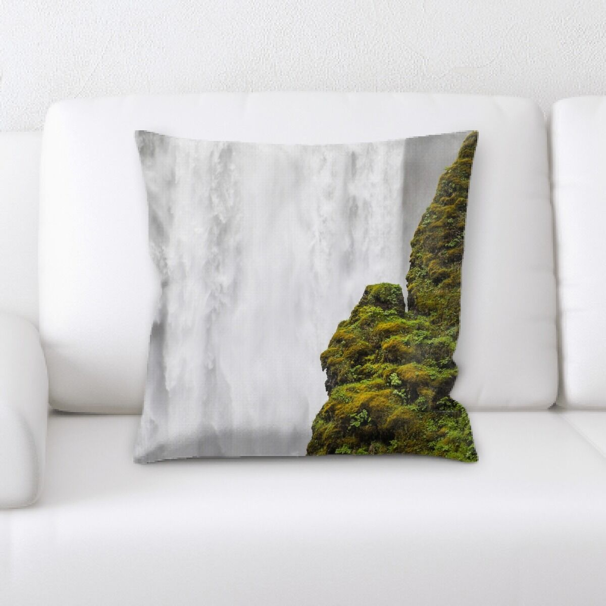 Waterfall (39) Throw Pillow