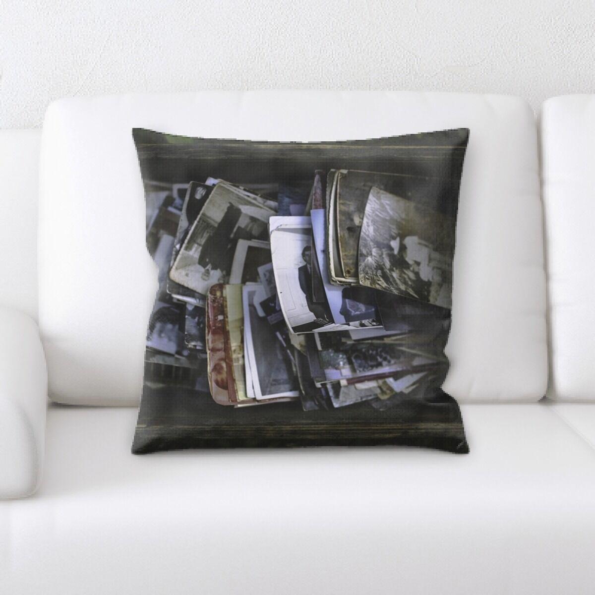 Marilyn Photos Throw Pillow