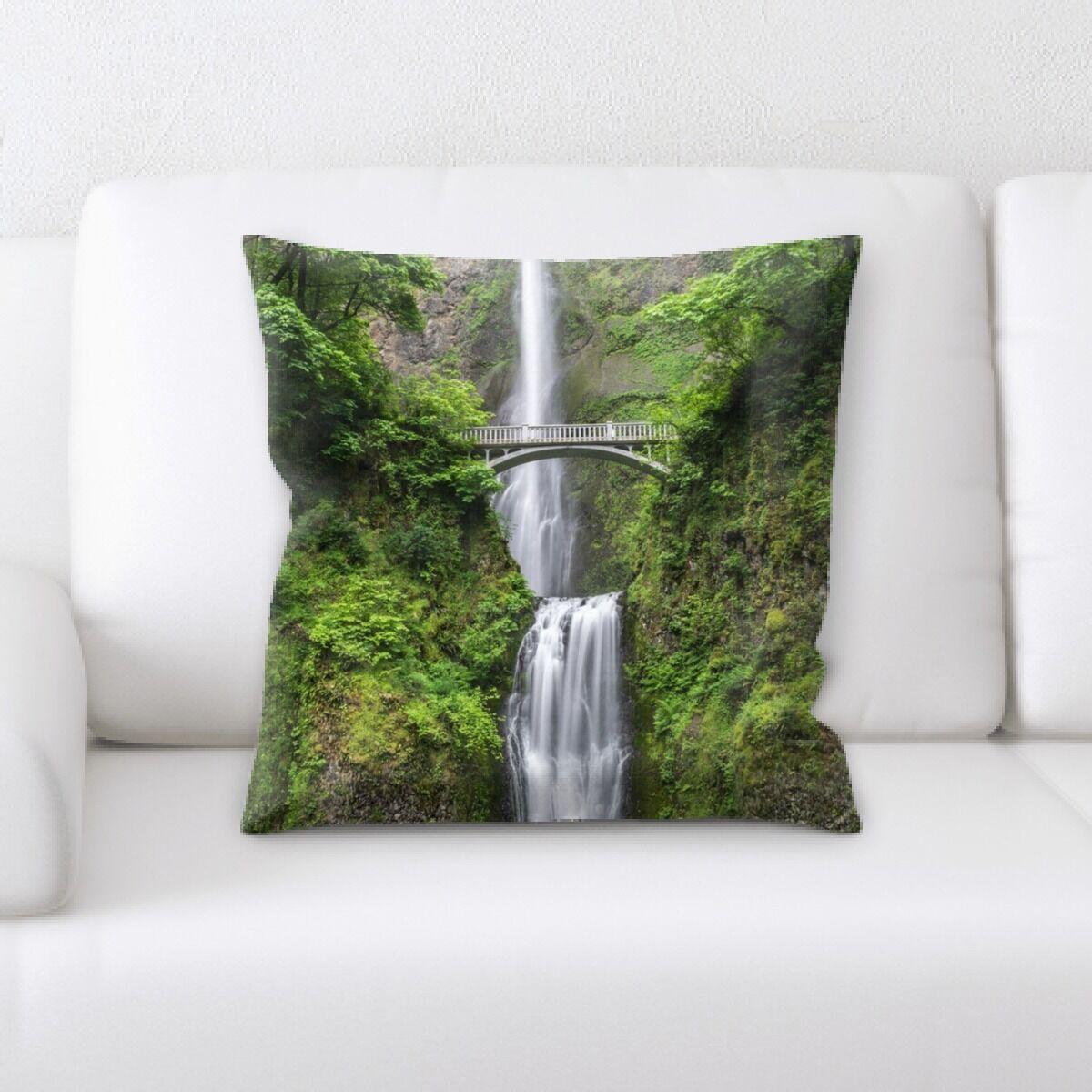 Waterfall (19) Throw Pillow