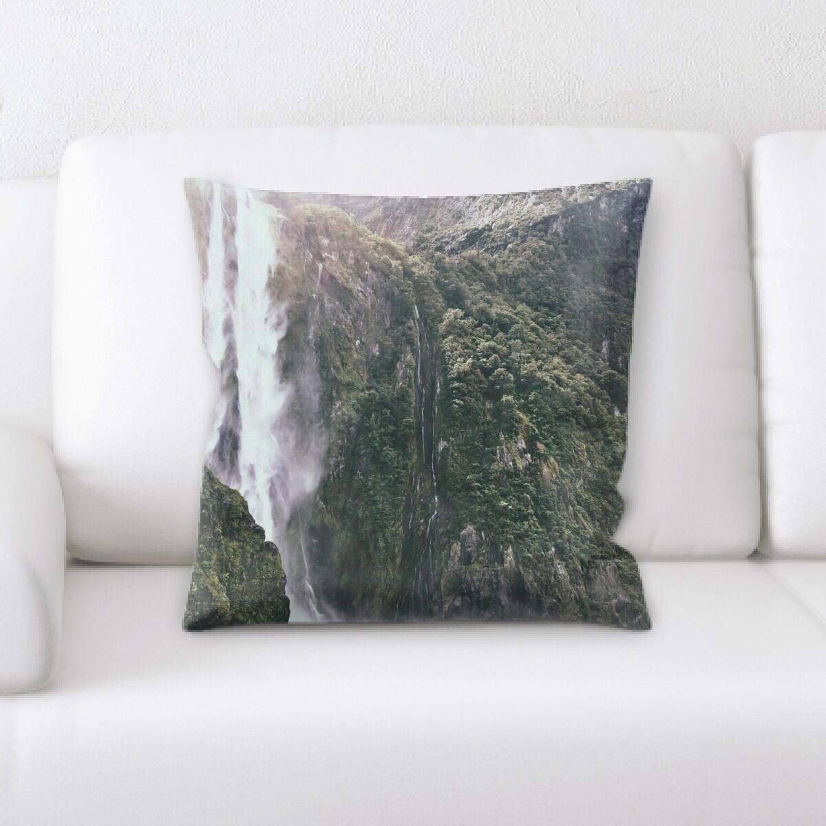 Waterfall (28) Throw Pillow