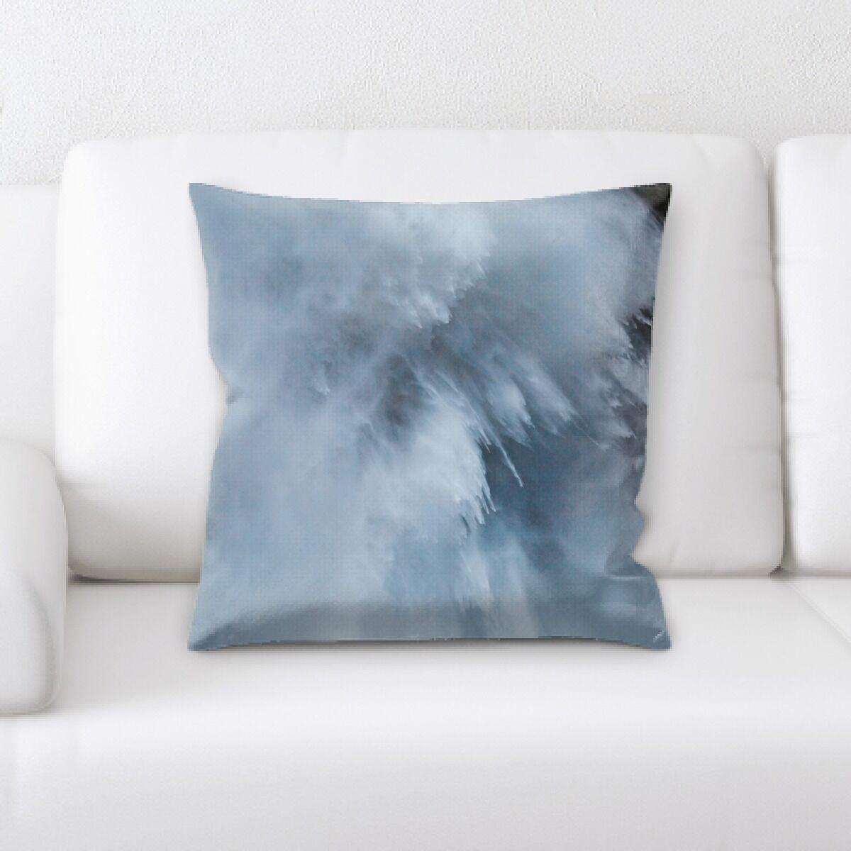 Waterfall (78) Throw Pillow