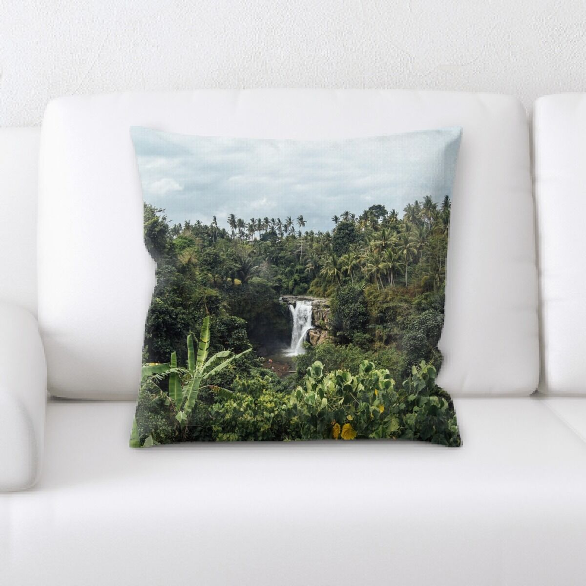 Waterfall (126) Throw Pillow