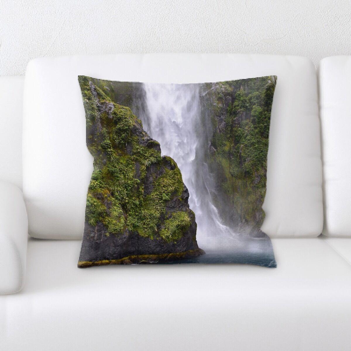 Waterfall (128) Throw Pillow