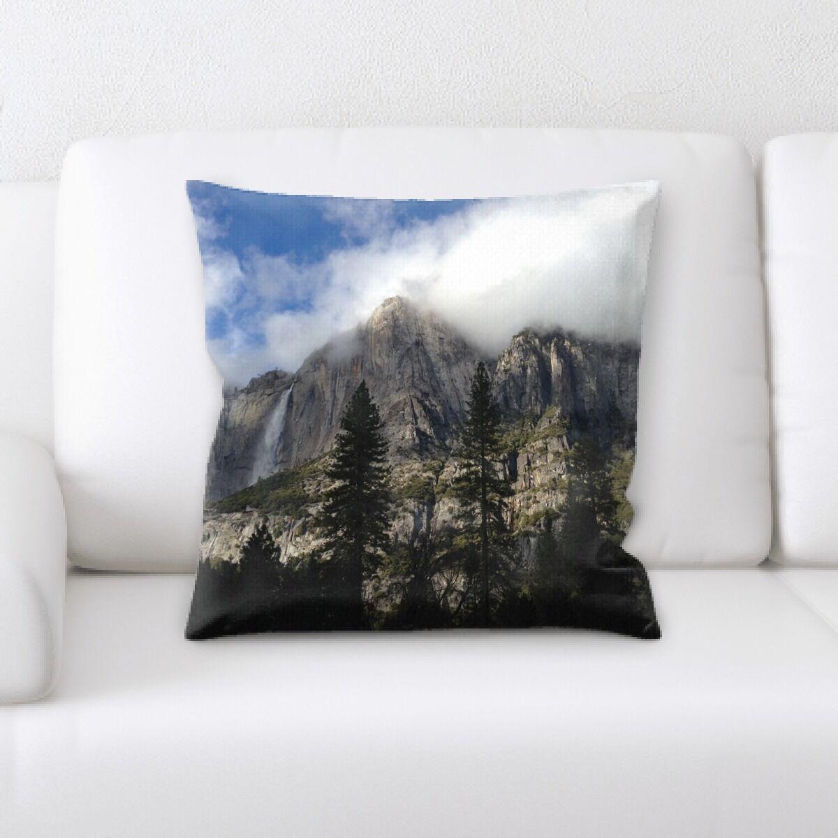 Waterfall (156) Throw Pillow