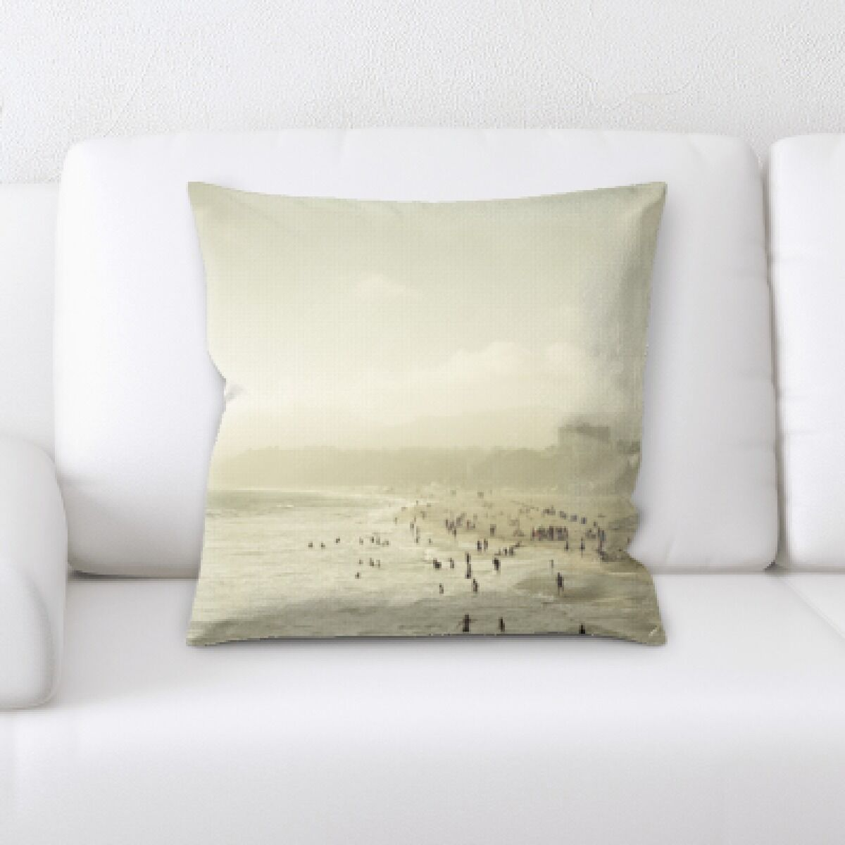 Guidry The Great Sea (20) Throw Pillow