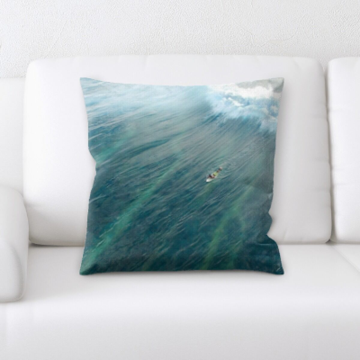 Dickens The Great Sea (108) Throw Pillow