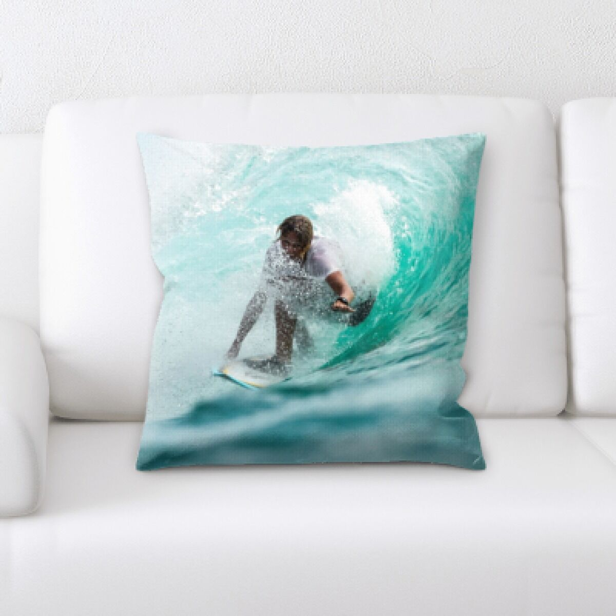 Humphries The Great Sea (124) Throw Pillow