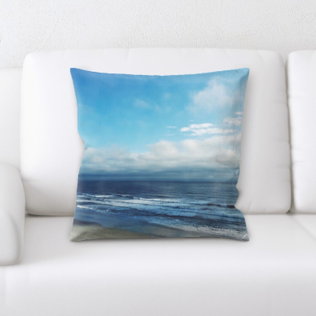 Jason The Great Sea (74) Throw Pillow