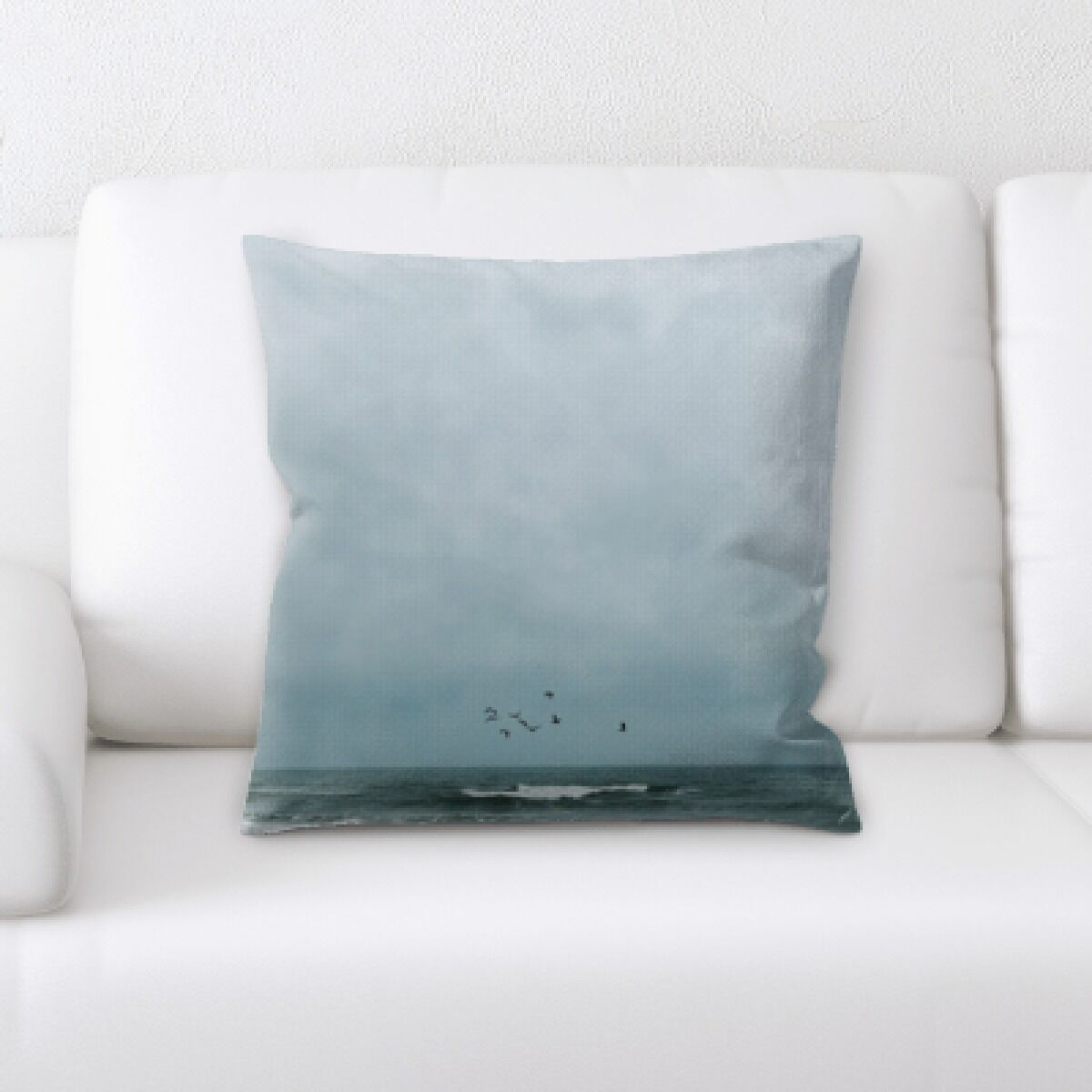 Kenney The Great Sea (134) Throw Pillow