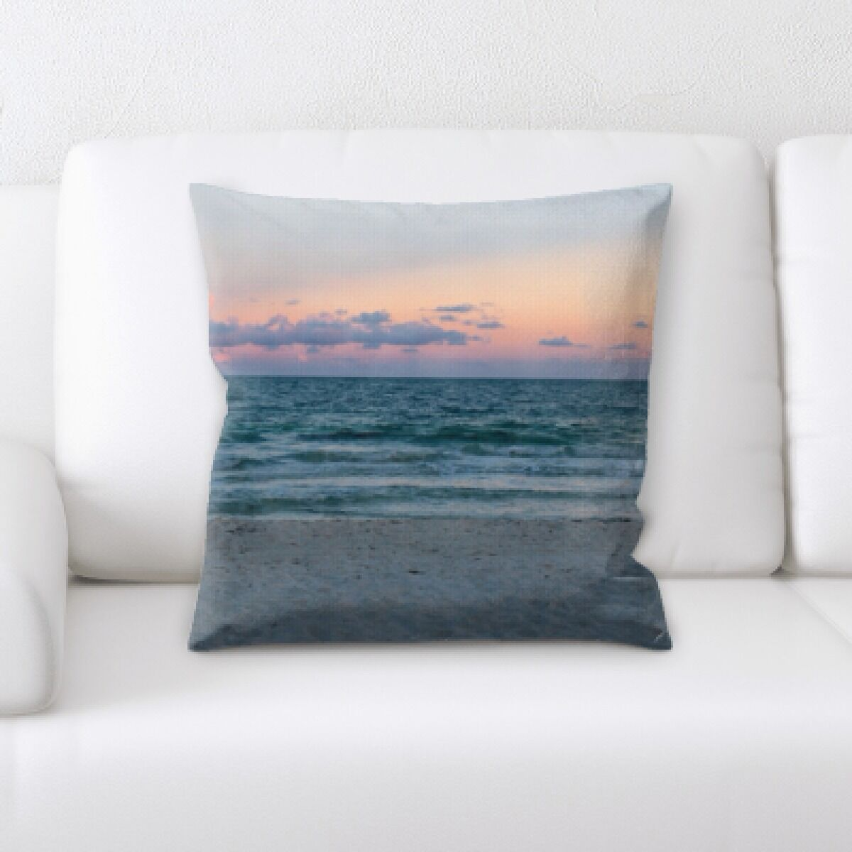 Currie The Great Sea (77) Throw Pillow