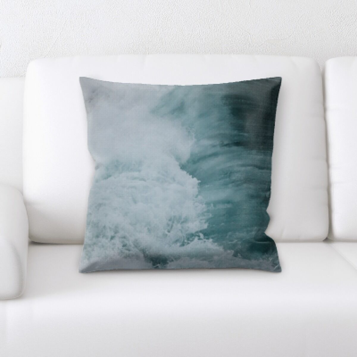 Anzavia The Great Sea (180) Throw Pillow