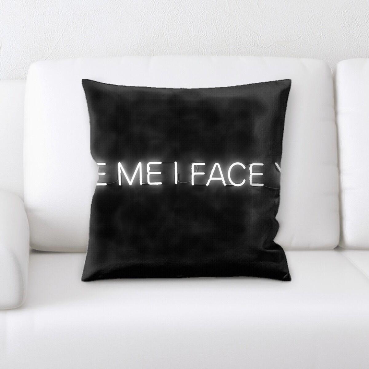 Jaycee Neon (80) Throw Pillow