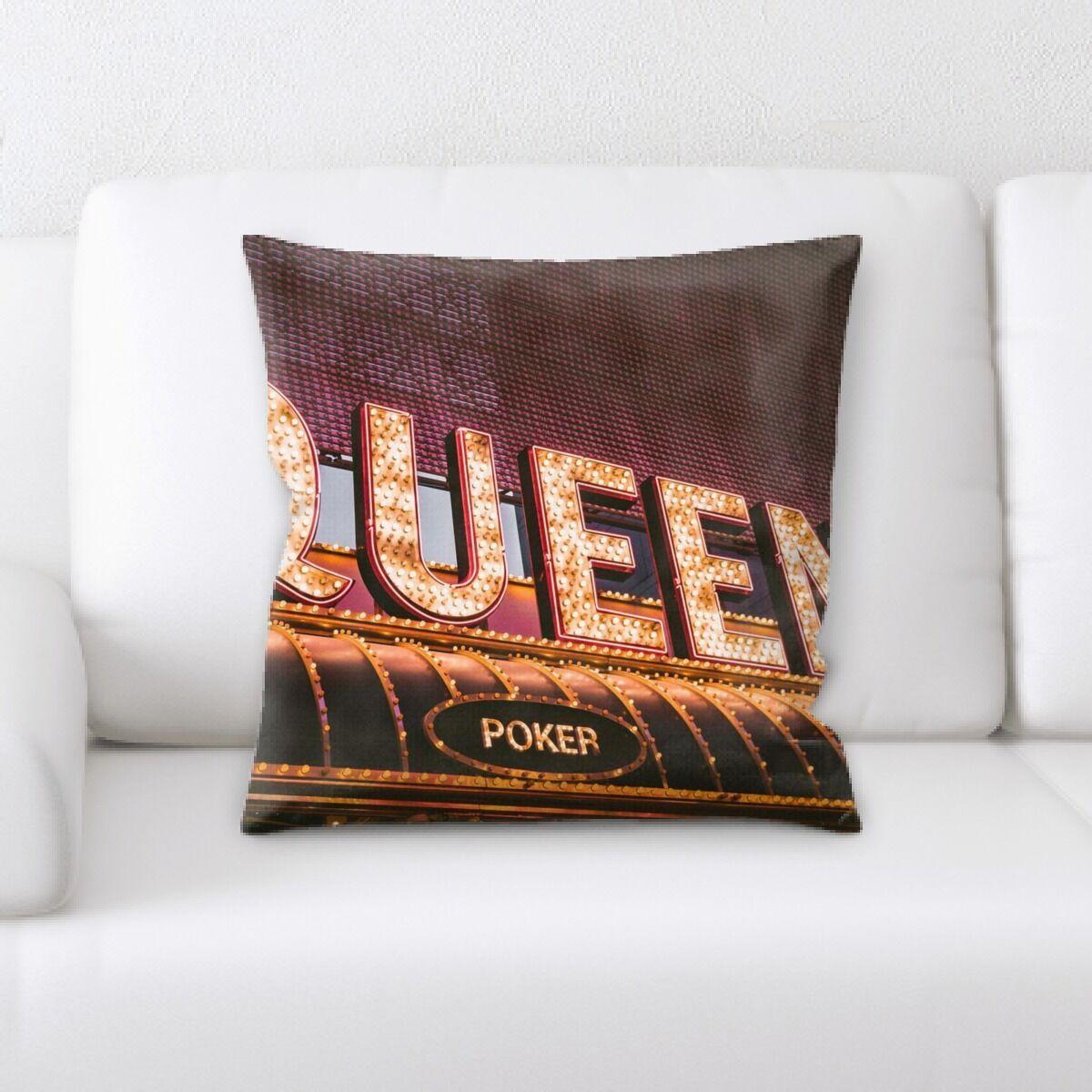Waithman Neon (109) Throw Pillow