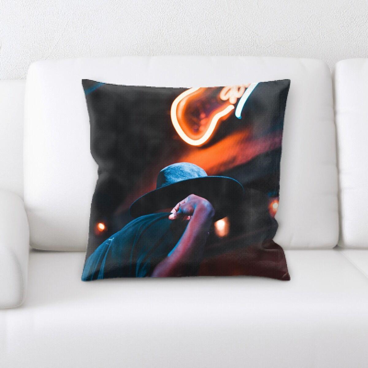 Waithman Neon (120) Throw Pillow
