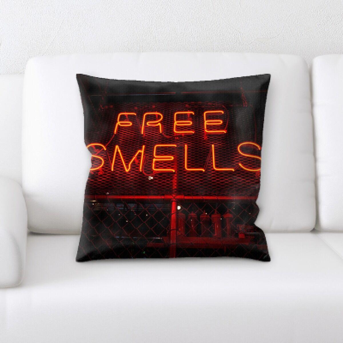 Waithman Neon (236) Throw Pillow