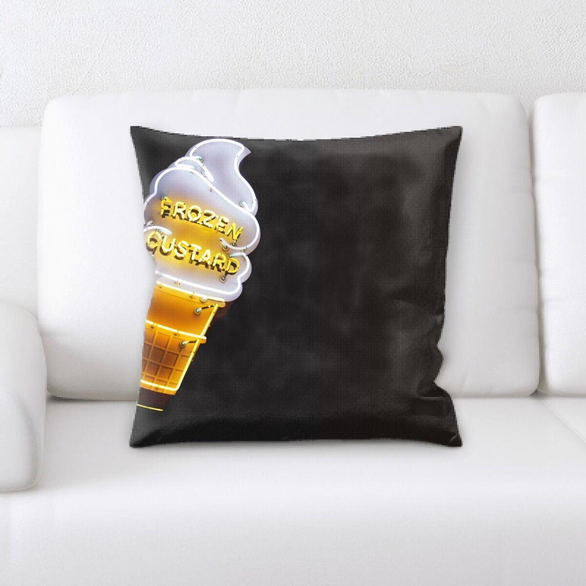 Waithman Neon (248) Throw Pillow