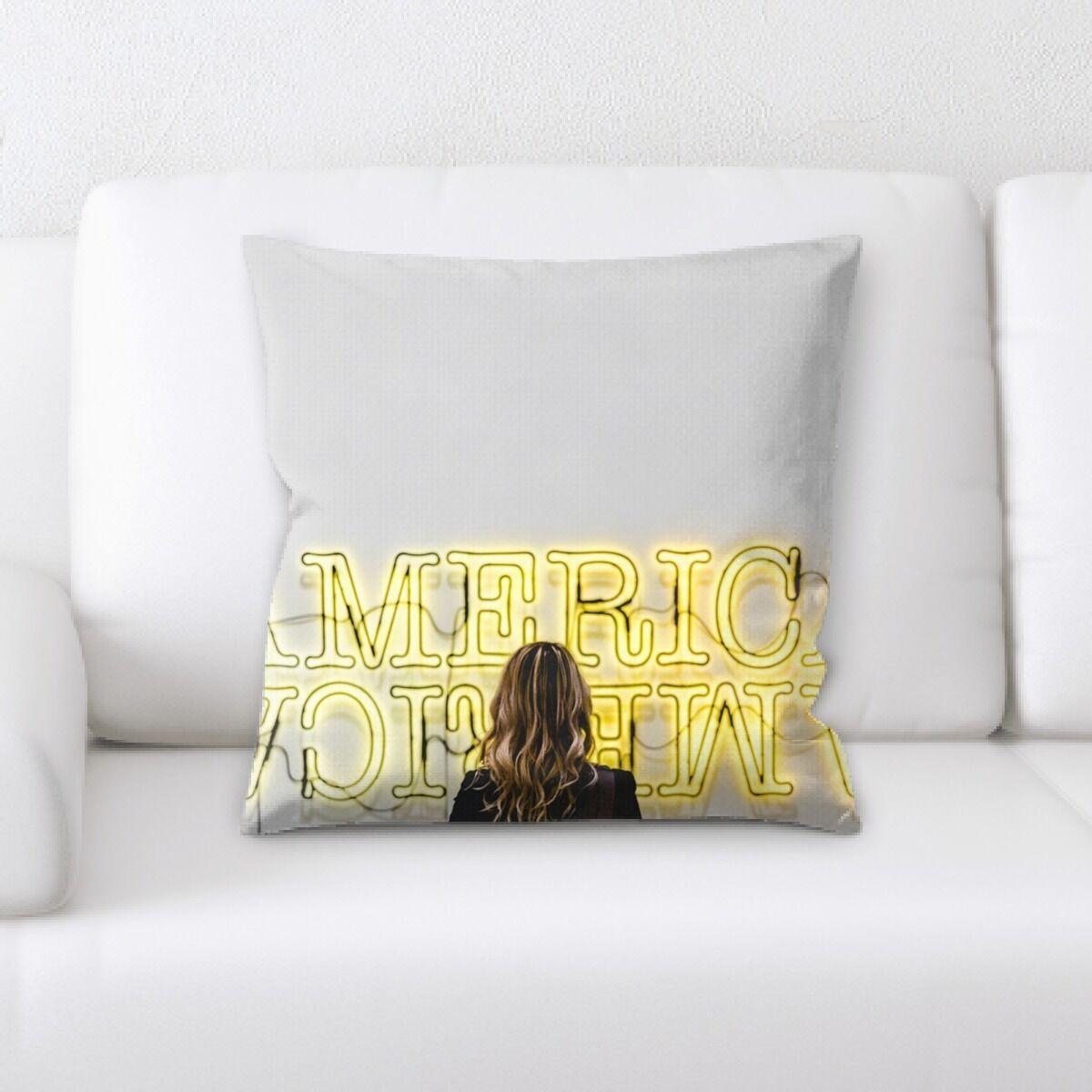 Waithman Neon (257) Throw Pillow