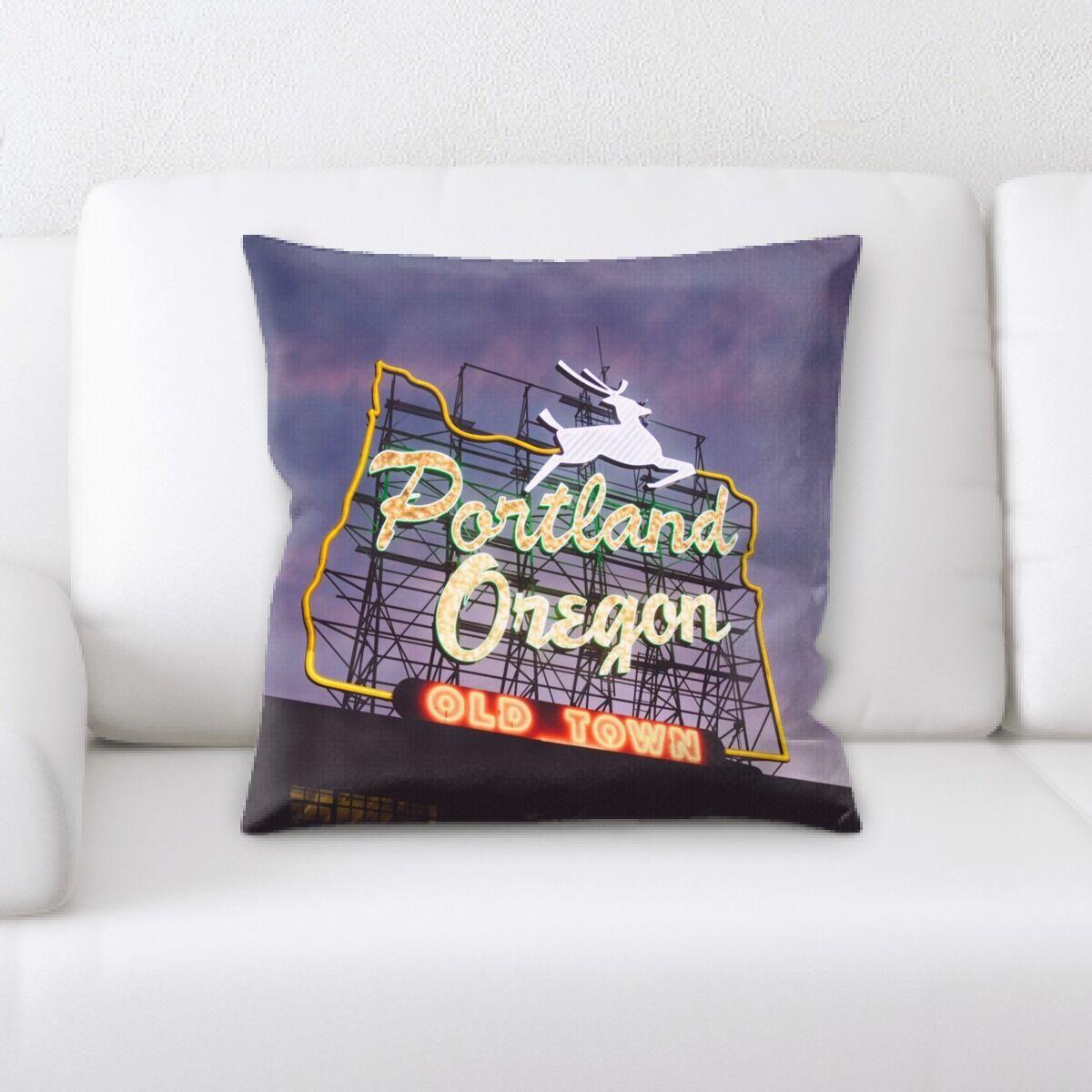 Waithman Neon (261) Throw Pillow
