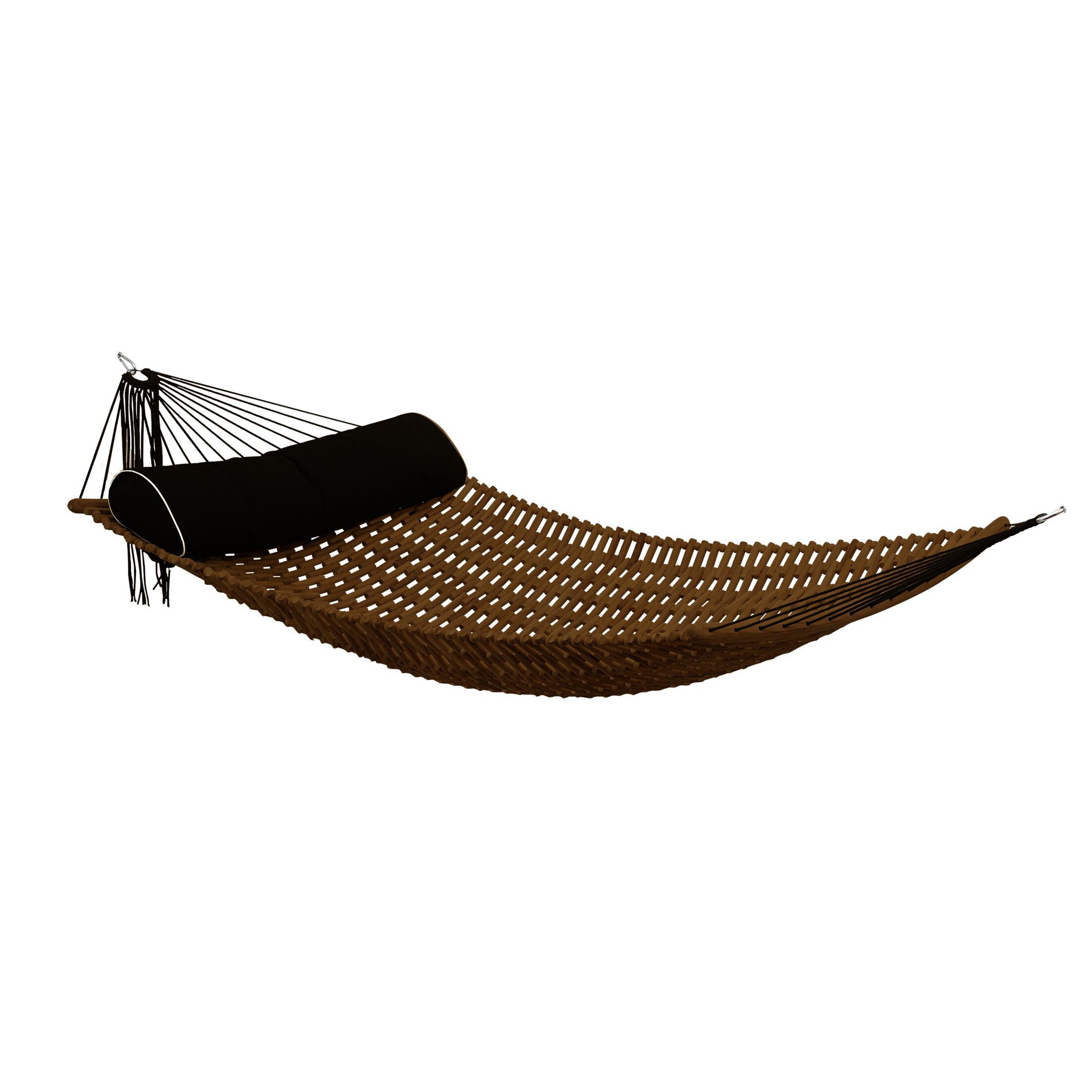 Sandy Teak Oil Double Hammock