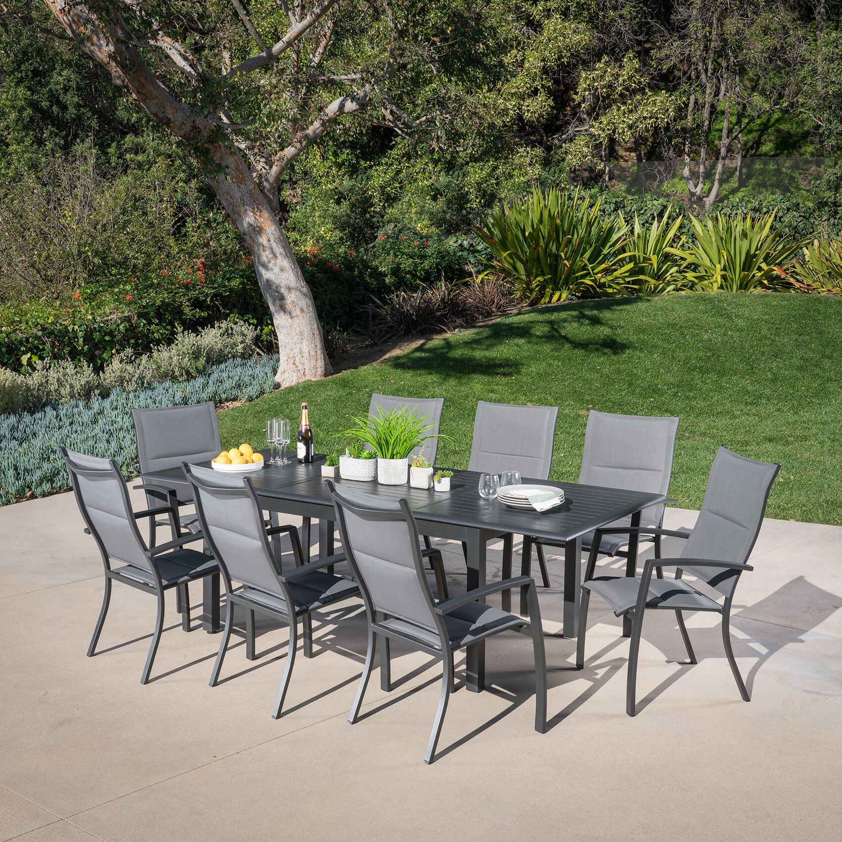 Bayshore 9 Piece Dining Set