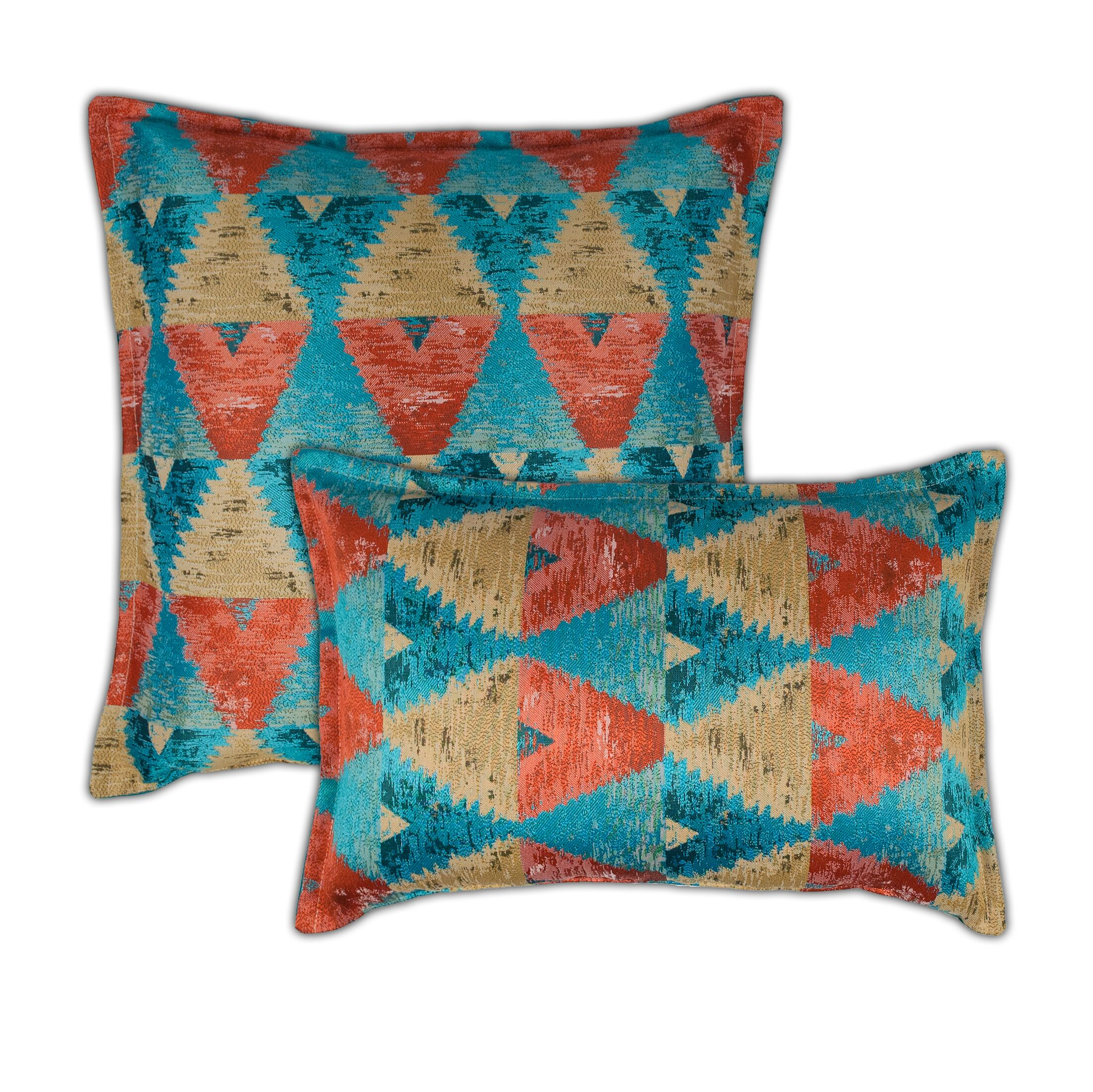 Madras 2 Piece Combo Pillow Set