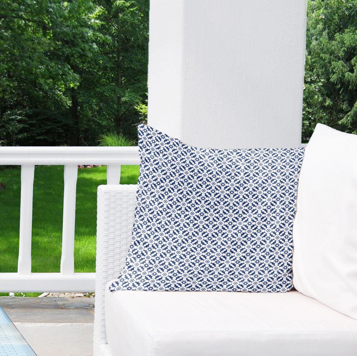 Wilmer Indoor/Outdoor Throw Pillow Size: 26