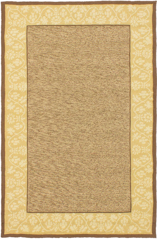 Haag Brown/Ivory Area Rug