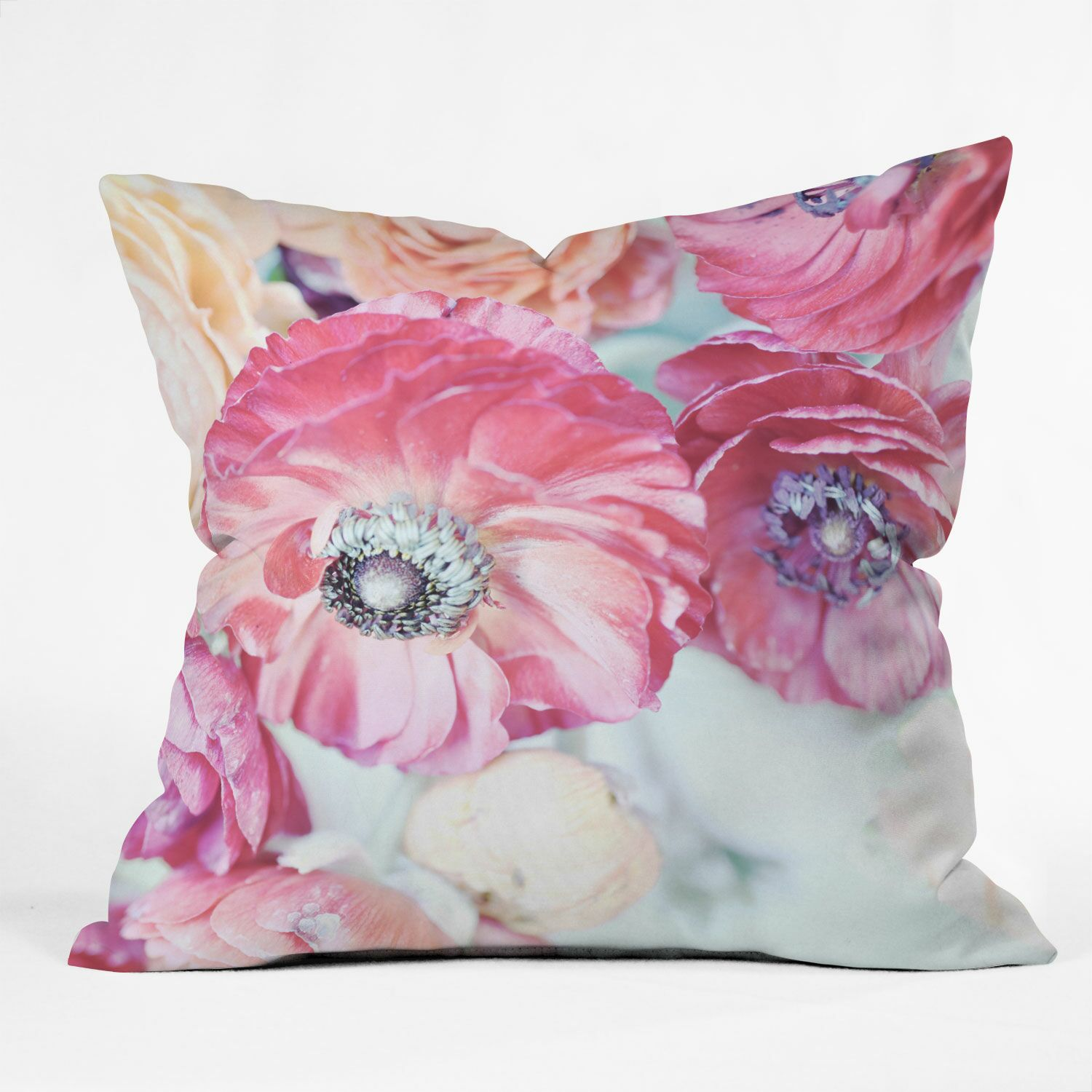 Lisa Argyropoulos Soft Whispers Indoor/Outdoor Throw Pillow Size: 16