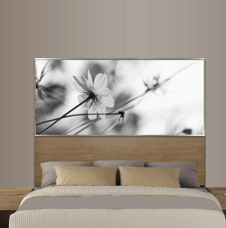 Reprise Panel Headboard Size: King, Color: River Cherry