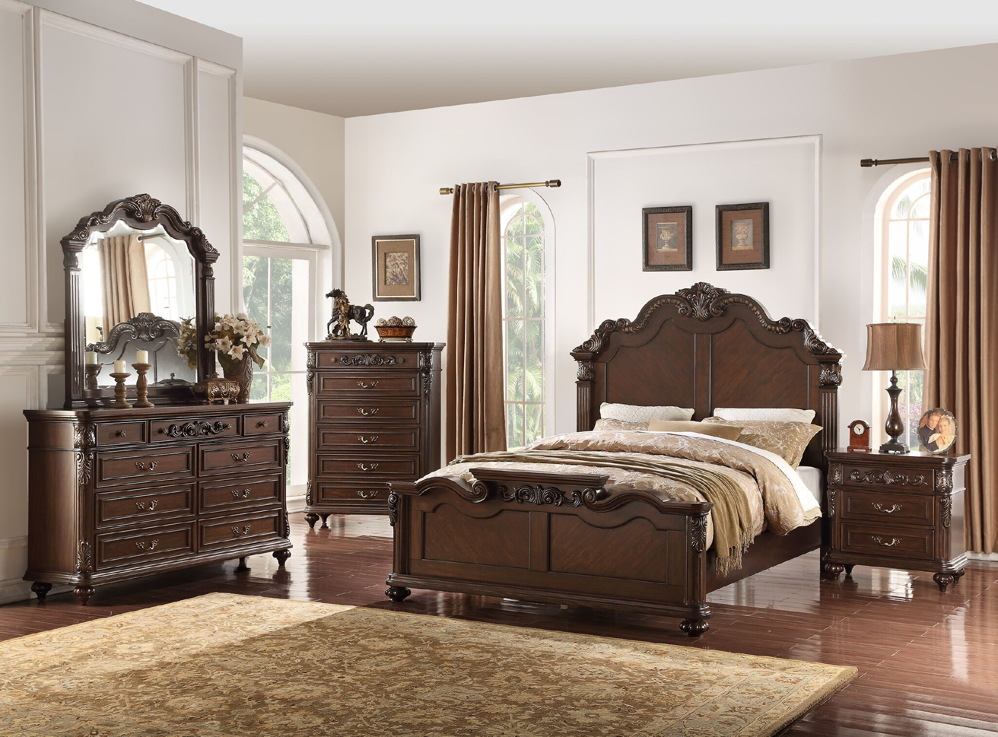 Andres Vilmos Panel Configurable Bedroom Set