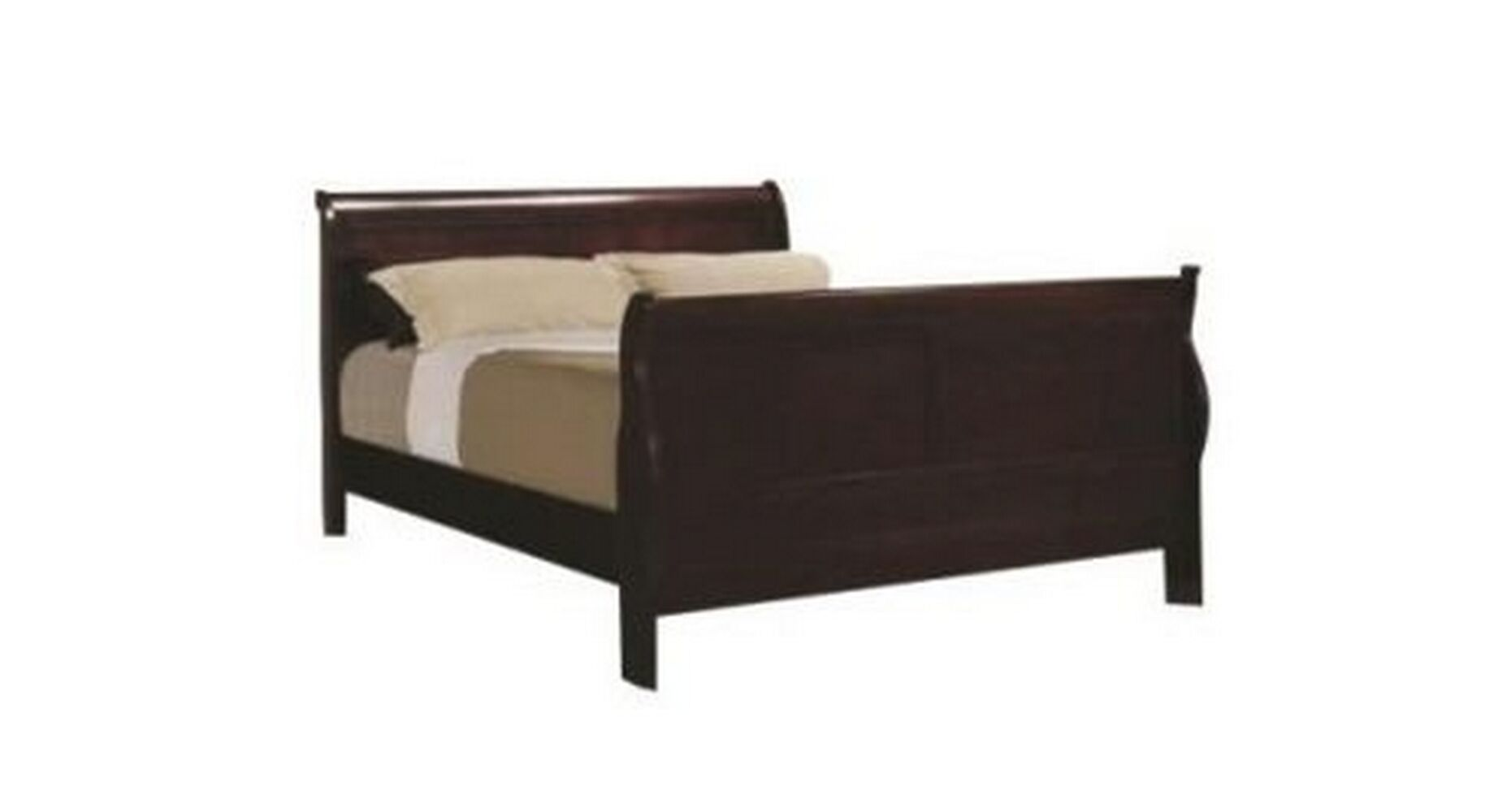 Jorge Panel Bed Size: Queen, Color: Black