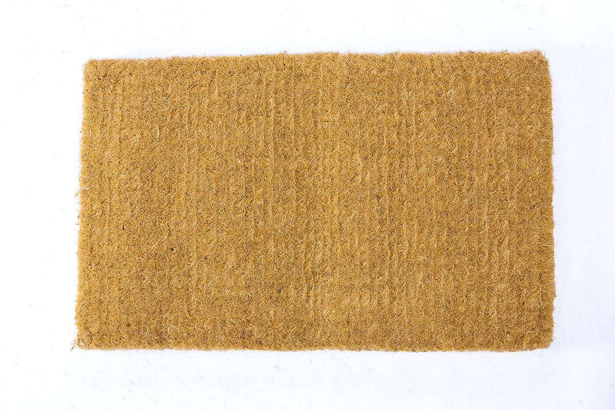 Peachey Premium Coir Handwoven Doormat Mat Size: Rectangle 36