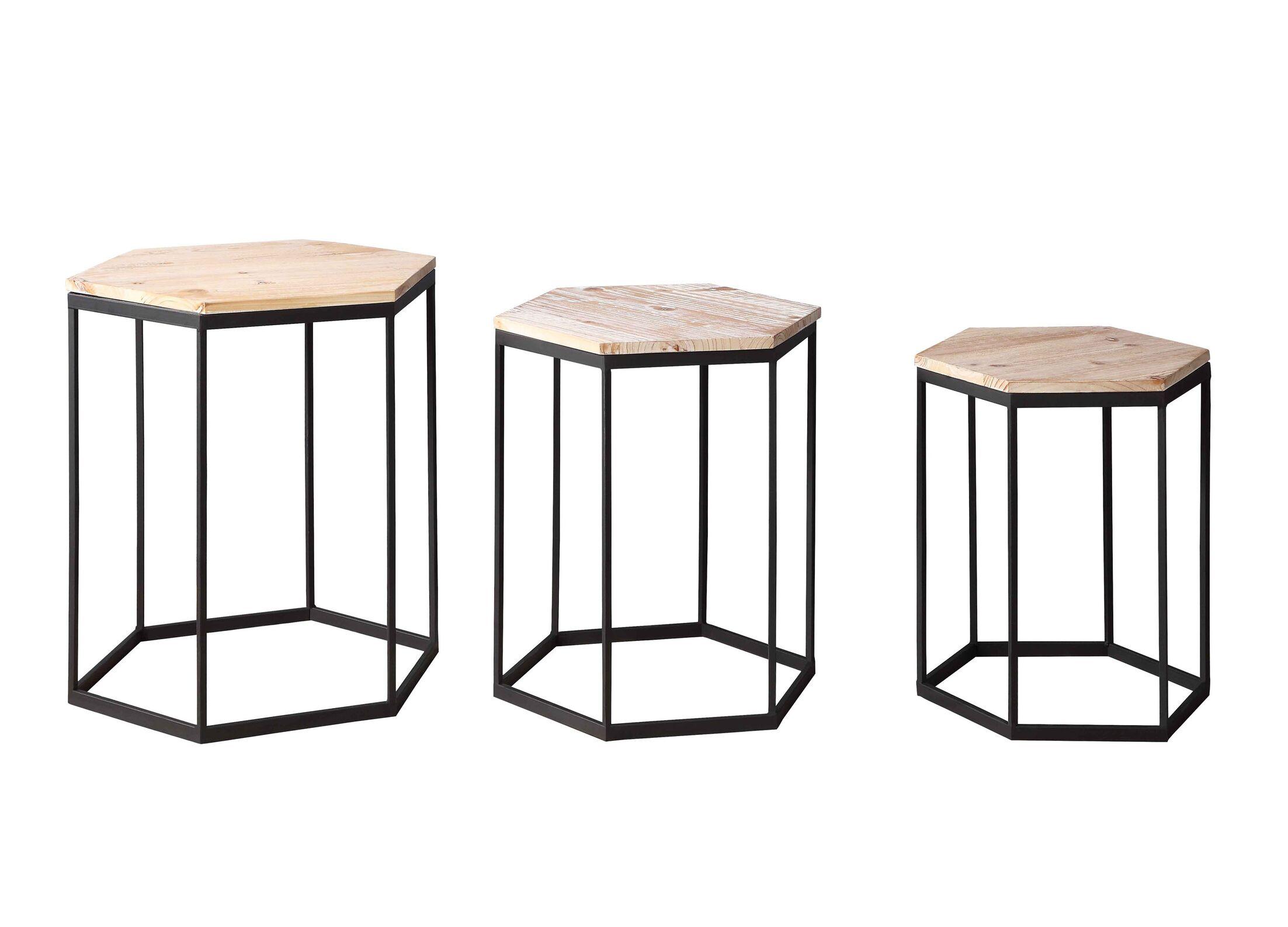 Stromberg 3 Piece Nesting Tables