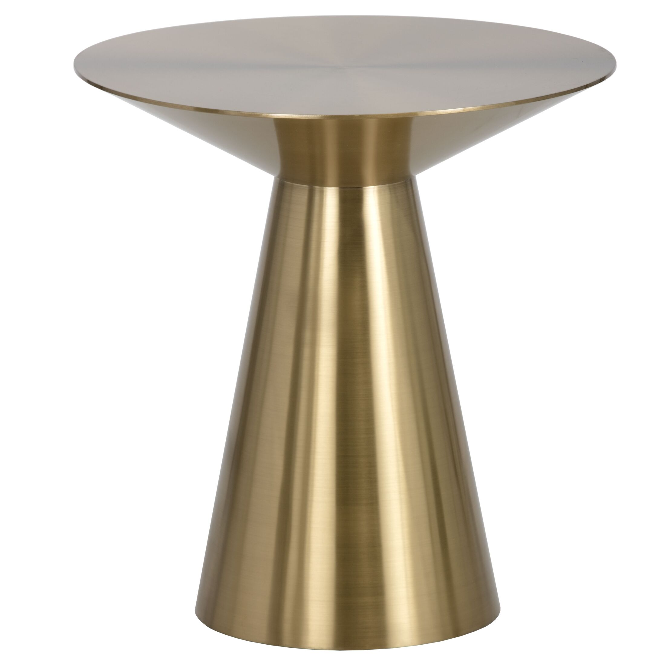 Ikon End Table Color: Gold