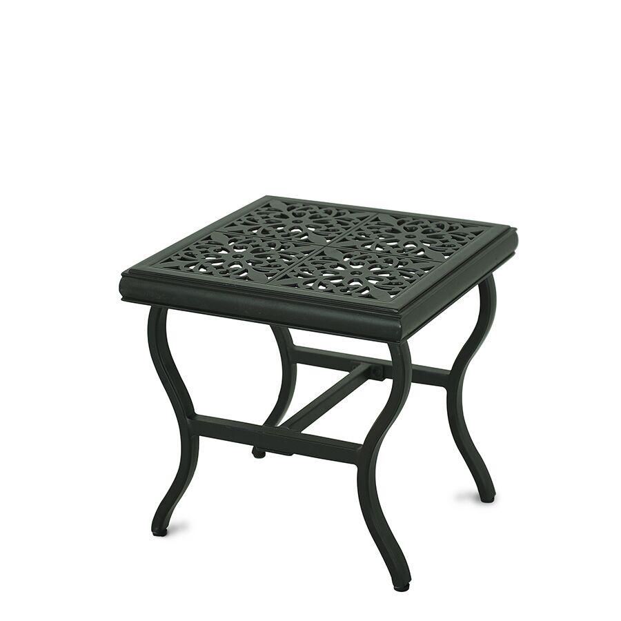 Schaffer Aluminum Side Table