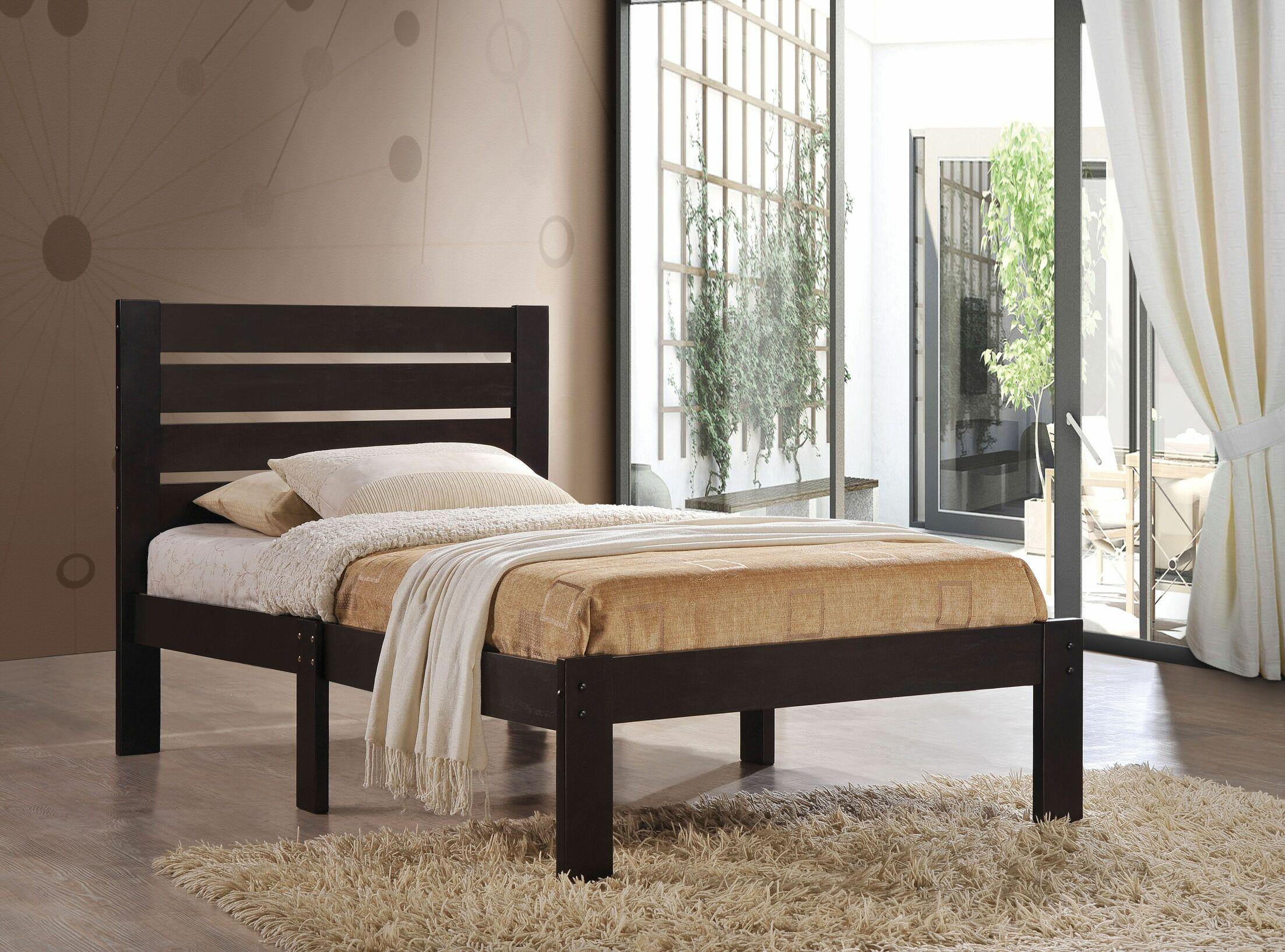 Ian Platform Bed Size: Queen