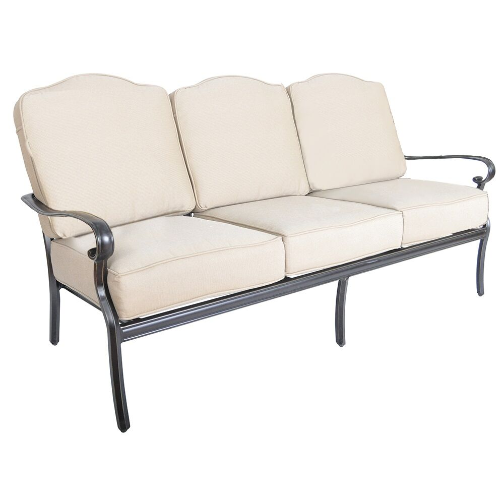 Fritsch Patio Sofa with Sunbrella Cushions