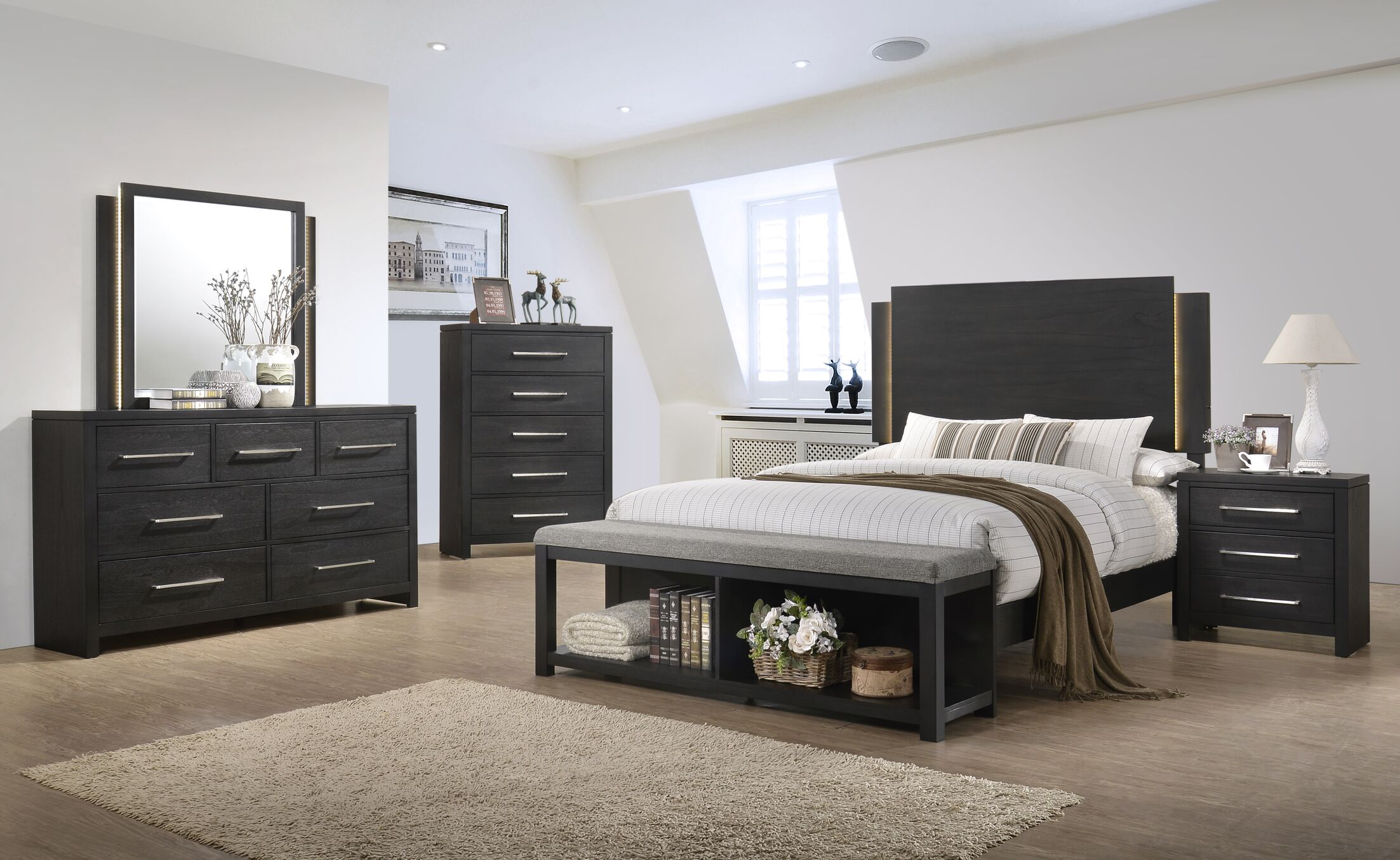 Carr Panel Configurable Bedroom Set