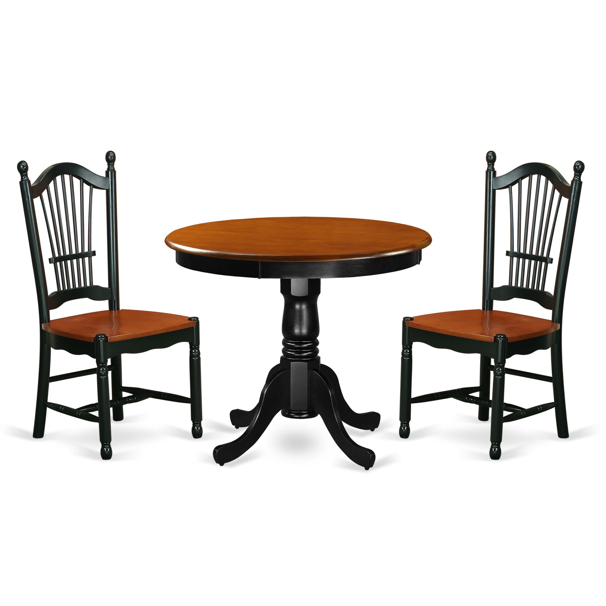 Dining Table Sets Jeffrey 3 Piece Dining Set