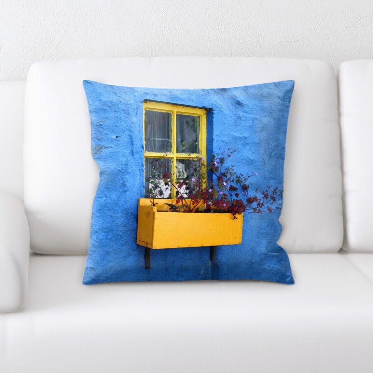 Sharp Colors Throw Pillow