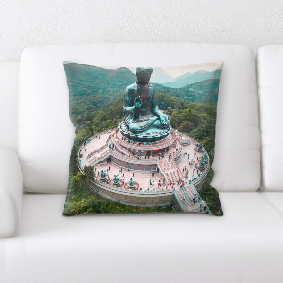 Statue Throw Pillow