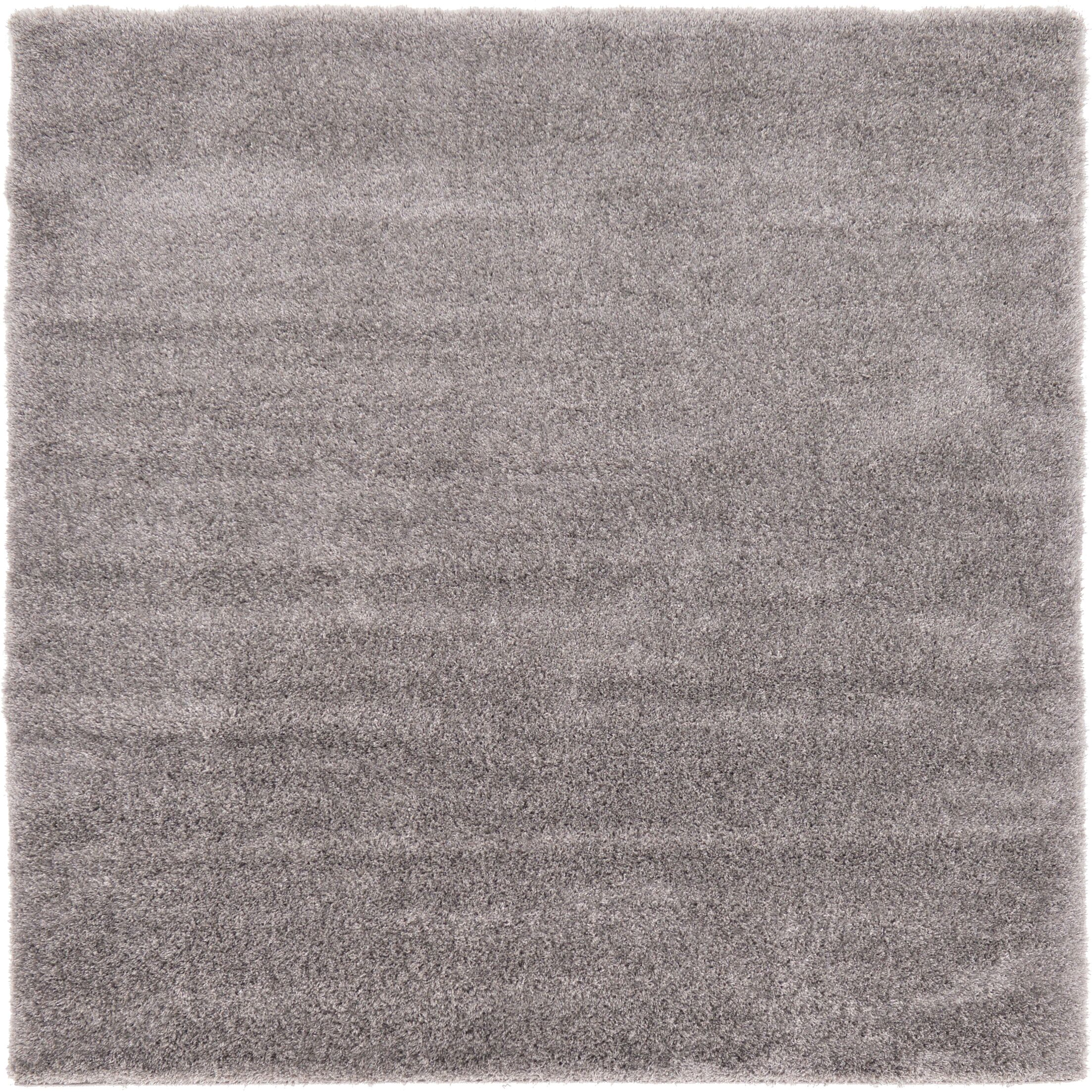 Evelyn Gray Area Rug Rug Size: Square 8'