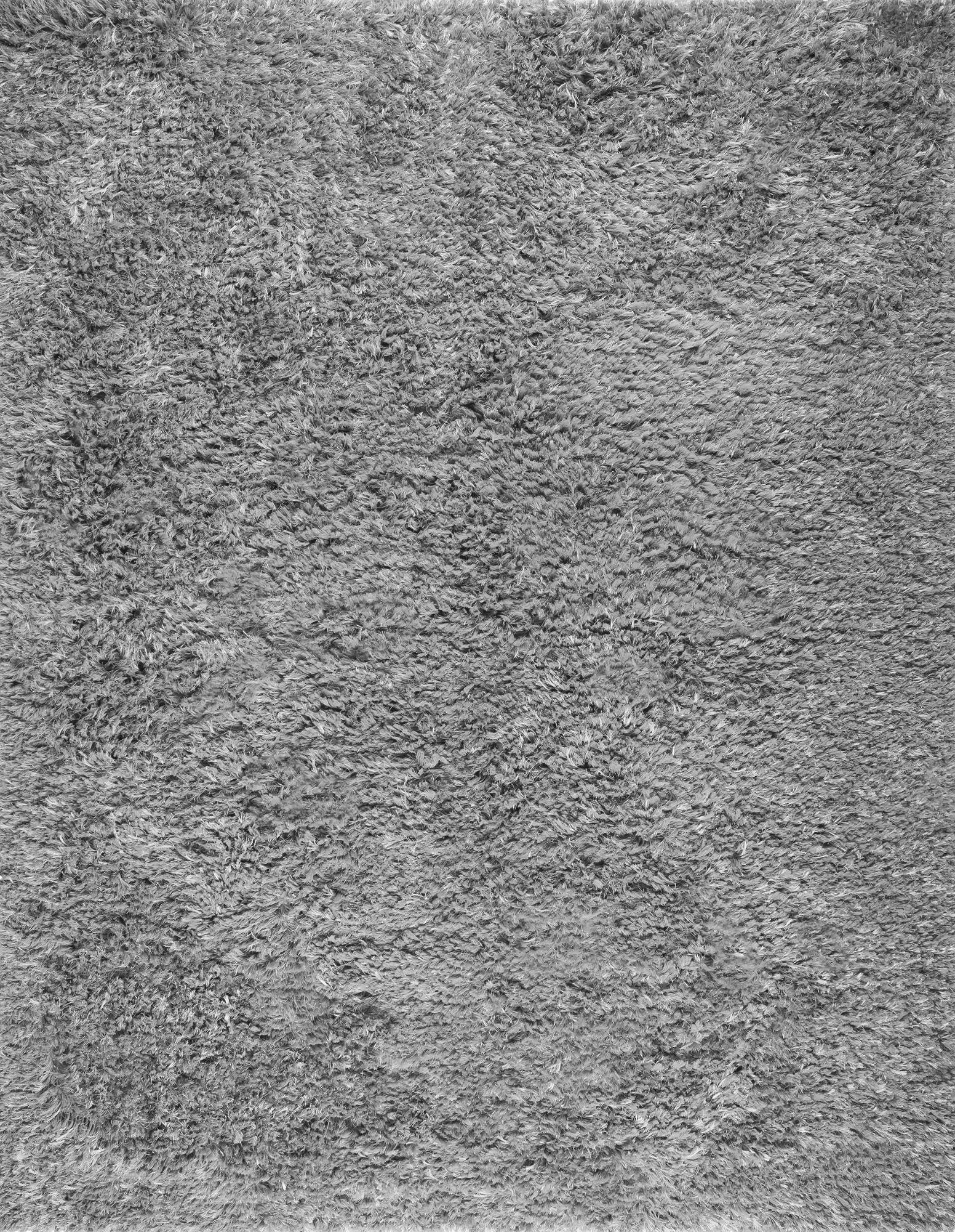 Paris Hand-Woven Silver Area Rug Rug Size: Rectangle 8' x 10'