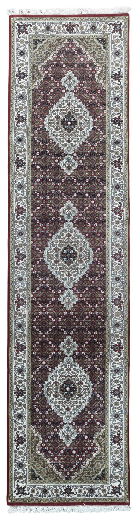 One-of-a-Kind Joanna Oriental Hand-Knotted Beige/Red Area Rug