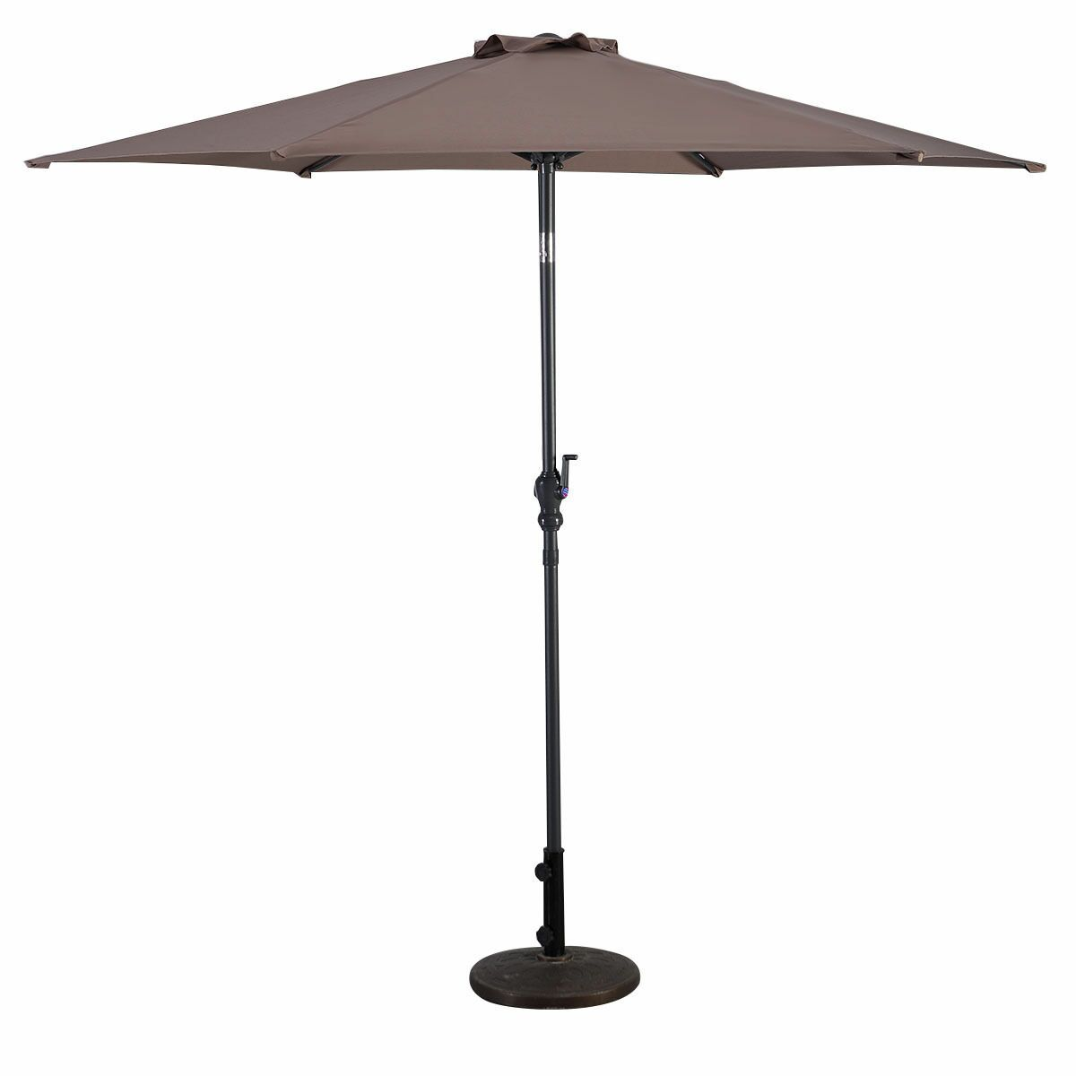 Bacon Patio Market Umbrella Open Umbrella Width: 120